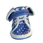 Small Dog Sneakers Blue