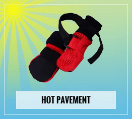 dog booties for hot pavement